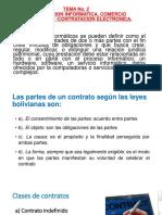 CONTRATACION INFORMATICA. COMERCIO ELECTRONICO -CONTRATACION ELECTRONICA.