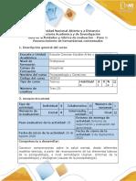 Guía de actividades y rúbrica de evaluación del curso - Paso 1- Reconocimiento de herramientas contextuales  PSICOPATOLOGIA 2020