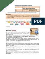 Guía N°1 La Cueca   1°Medio ( 7 al 11 de Septiembre)
