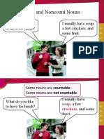 Speak Now 1 Count and Noncount Nouns Grammar Presentation