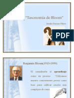 taxonomía de Bloom y evaluación