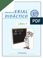 MATEMÁTICA PRIMER GRADO-PARTE 1