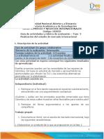 Guía de actividades y rúbrica de evaluación - Unidad 2 - Fase 2 - Realización del estudio de mercado internacional