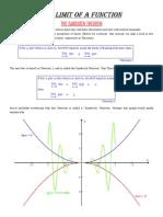 Evaluating+Limits(Sandwich+Theorem)