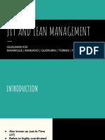 [QUALMAN K32] Team Feigenbaum - JIT & Lean Manufacturing, v.02