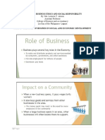 Teaching Guide for Role of Business in Social and Economic Development