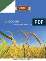 Veer Rice - Brochure