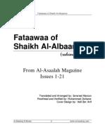 Fatwas of Shaykh Al-Albanee Rahimahumullah