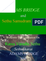 Part 1 (SS Project) Setu Samudram Project Ramavaradhi Adams Bridge