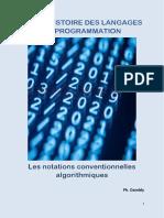 Brève Histoire des languages de programmation