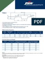 JSWSMD TR60+ Data Sheet 31760