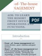 Resort Management Chap. 8