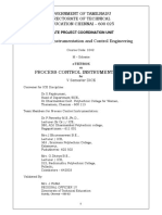 Process Control Instrumentations Engineering college