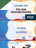 PDF apostila de coreano