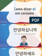 Coreano Online - Apostila (Curso)