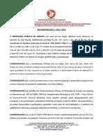 Recomendação n 003-2020 Praça do Farol