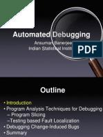 NSSE-2011-ABanerjee-AutomatedDebugging