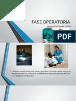 FASE OPERATORIA