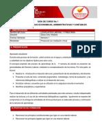 Guia de Curso No. 1 Legislacion Laboral y Tributaria.