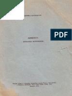 Семберија - Етнолошка монографија