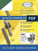 ASM2011LO Captured screw catalog