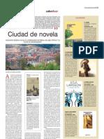 """crítica de Javier Sánchez Zapatero en La Gaceta de Salamanca de la novela """"La ría de los afrancesados"""" de Ascensión Badiola"""