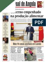 Jornal de Angola -  21.07.2020