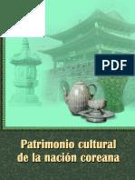 Patrimonio cultura de la nación coreana