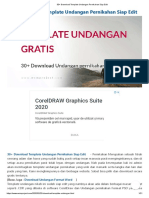 30+ Download Template Undangan Pernikahan Siap Edit