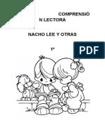 COMPRENSIÓN LECTORA NACHO LEE Y OTRAS 1º