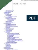 NVDA 2011.1 User Guide