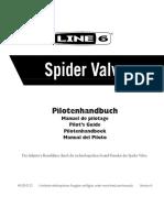 Spider Valve User Manual - German ( Rev A )
