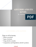 Adverbs and its Kinds - Copy