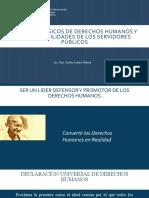 Aspectos básicos de derechos humanos y responsabilidades de