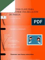 ASPECTOS CLAVE PARA MANTENER UNA RELACIÓN DE PAREJA