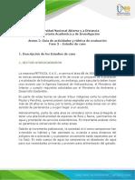 Anexo 2. Guía de actividades Fase 3 - Estudio de caso en Colombia