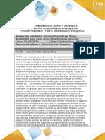 Formato de Respuesta - Fase 5 - Aproximacion Etnografica