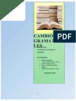 CAMBIOS-GRAMATICALES