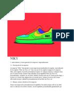 Proyecto De negocio Niky