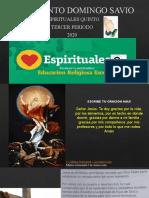 ESPIRITUALES QUINTO III PERIODO