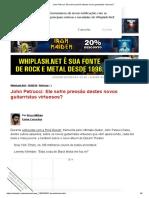 John Petrucci_ Ele sofre pressão destes novos guitarristas virtuosos_