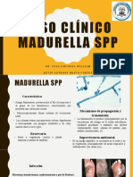Caso clínico Madurella spp