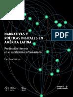 Gainza Cortés, Carolina - Narrativas y Poéticas Digitales en América Latina