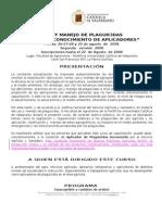 Curso Uso y manejo de plaguicidas para el reconocimiento de aplicadores
