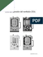 Guía del operador del ventilador ZOLL (REF 9650-002363-10 Rev B)
