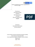 Informe Análisis temperatura y precipitación para analizar comportamiento del clima de una región Mau, Yul, Glo.