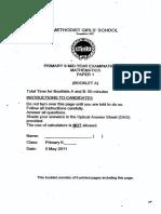 2011-P6-Math-SA1-MGS