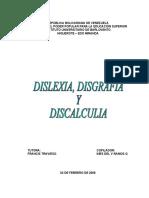 DISLEXIA-DISGRAFIA