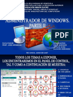 ADMINISTRADOR DE WINDOWS. PARTE II.ppt