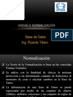 Clase 6 Base de Datos - Normalización